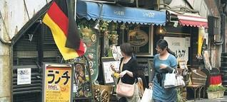 Sushi in Berlin - Brezeln in Tokio