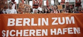 Gegen Nazis: #Wirsindmehr und #unteilbar