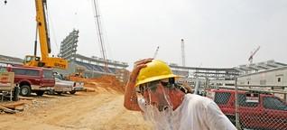 Hitzewelle: Bekommen jetzt wenigstens Bauarbeiter Hitzefrei?