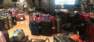 Koffer-Chaos, Brand und Lautsprecher-Ausfall am Airport