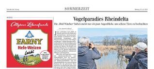 Vogelparadies Rheindelta