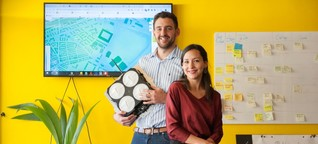 Die Luftdienstleister. Das Münchner Start-up untersucht die Schadstoffbelastung in Städten. Ziel ist, Messwerte vergleichbar zu machen und Trends aufzuspüren. Es könnte mithelfen, die Mobilität zu verändern.