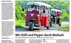 Mit Chilli und Pepper durch Marbach