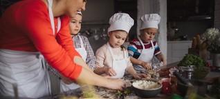 Kochen mit Kindern: An die Töpfe, fertig, los!