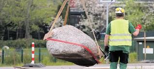 Osdorf: Kreisel ist fast fertig