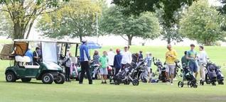 Jugend-Camp auf Uhlenhorst in Dänischenhagen: Nachwuchs auf dem Golfplatz