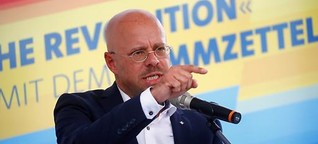 Rechtsextreme Camps: Sagt AfD-Kandidat Kalbitz die Wahrheit?