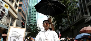 Hongkong: Sie lassen sich nicht einschüchtern