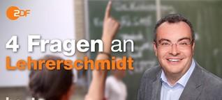 Soll das aktuelle Schulsystem abgeschafft werden, Lehrerschmidt?