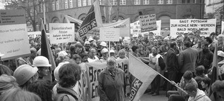 Polarisierung der Gesellschaft: Neue Länder, alte Wut (Buchauszug)