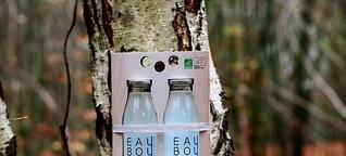 Birkensaft aus Nordfrankreich: Hippes Getränk zur Rettung der Bäume