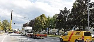 Lkw verliert Anhänger auf B6 in Bautzen | MDR.DE