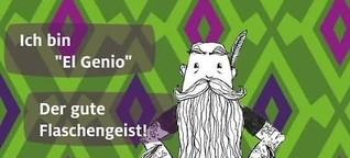 El Genio, der Flaschengeist
