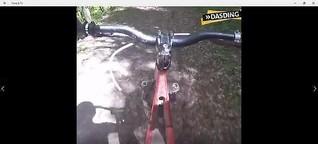 Downhill-Rollerfahrt für DasDing