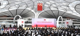Daxing International: Peking eröffnet Flughafen der Superlative