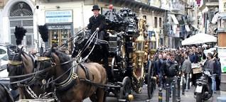 Gang-Beerdigungen in Irland - Mit Rolex und Rolls Royce ins Grab