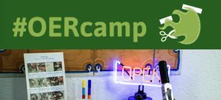 """Als """"Experte"""" bei der OERcamp-Werkstatt vom 4. bis 6.11. im LISUM in Ludwigsfelde"""