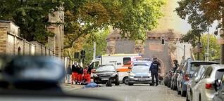 Terroranschlag in Halle: Der Horror direkt vor der Synagogentür