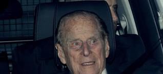 Großbritannien: Prinz Philip gibt seinen Führerschein ab