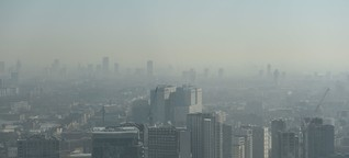 Zeitlupe: Londons Luft