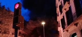 """Proteste in Katalonien: """"Wir wollen unsere Wut brennen sehen"""""""