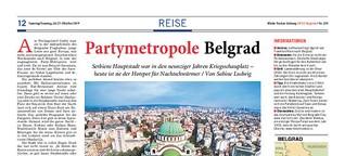 Partymetropole Belgrad