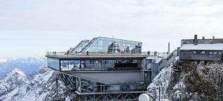 Neue Gipfelarchitektur in den Alpen