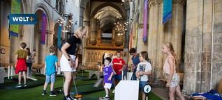 Großbritannien: Auf den Golfplatz zur Suche nach Gott