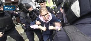 Demos in Moskau: Bürgerrechtsorganisation OWD-Info hilft Inhaftierten