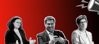 Krachend gescheitert: Union und SPD betreten 'Neuland'