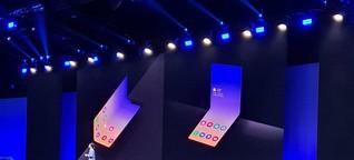 Smartphone-Hersteller setzen weiter auf Faltdisplays
