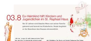 Ex-Heimkind hilft Kindern im St. Raphael Haus