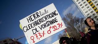 Wir brauchen eine strenge Frauenquote, jetzt!