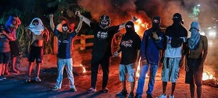 Honduras: Hoffnungsfeuer in der Nacht