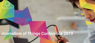 Journalism of things conference