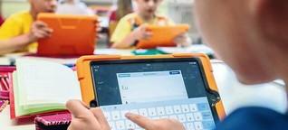 Potsdamer Lehrer werden digital geschult