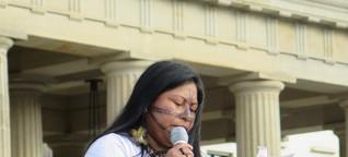 """SOS Amazonia: """"Kauft keine brasilianischen Produkte"""""""