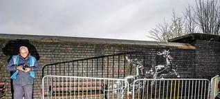 Streetart-Künstler Banksy kritisiert mit neuem Werk Obdachlosigkeit