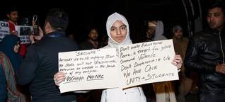 Studentenproteste in Indien: Sie sollen sich schämen