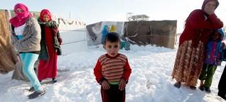 Dramatische Zustände in Flüchtlingslagern | DW | 13.12.2013