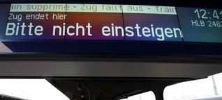 Busse statt Züge: Zu viele Lokführer in Wetterau krank
