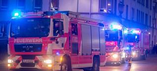 Feuerteufel zündelt in Praunheim - doch die Anwohner reagieren richtig