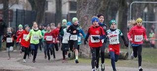 Schneller Berliner Sieger beim Winterlauf des TSV Leipzig-Wahren