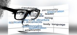 Bewerbungsgespräch - KI überprüft Kandidaten