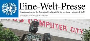 Eine-Welt-Presse: Eine Zukunft der Arbeit, die sich am Menschen orientiert