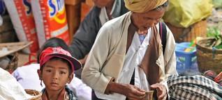 Das Geschäft mit den Armen in Myanmar