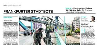 Polizeiruf-Dreh in Frankfurt: Krimi an der Oder