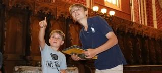 Kinder führen Kinder durchs Münster