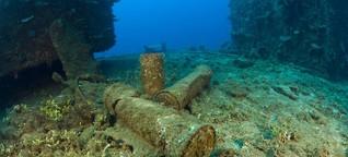 Minensuche im Meer - Wie Forscher Munitionsaltlasten aufspüren wollen
