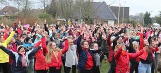 One Billion Rising : 250 Menschen tanzen in Niebüll gegen Gewalt | shz.de